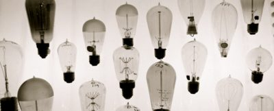 Lightbulbs of different shapes and sizes